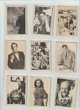 Man From Uncle  A&BC Gum  Full set of 55 cards