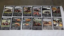 Pasquali Tractor brochures $.99 each articulated tractor ruggerini lombardini