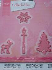 """MARIANNE COLLECTABLES - CHRISTMAS VILLAGE DECORATIONS"""" - COL1330 CARDS SCRAPBOOK"""