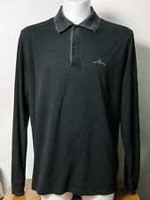Hugo Boss Long Sleeve Polo XL Black Label Pima Cotton