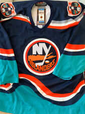 New York Islanders CCM Center Ice size 54 Authentic Wave Jersey w/ ORIGINAL TAGS