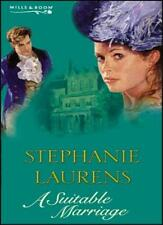A Suitable Marriage (Mills & Boon Special Releases),Stephanie Laurens