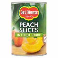 Del Monte Peach Slices in Light Syrup - 420g (0.93lbs)
