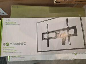 Nedis TVWM1550BK Full Motion Wandhalter für bis 178 cm (70 Zoll) TVs