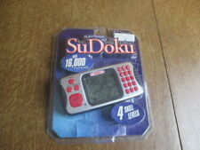 Electronic Sudoku KEYPAD Handheld Portable Number Puzzle Game Travel IQ Games
