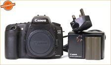 Canon Eos 20D Digital SLR Cuerpo de Cámara, Batería, Cargador + Free UK Post