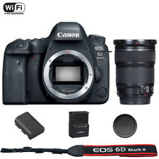 Canon EOS 6D mark II Digital SLR Camera body with EF IS STM 24-105mm Lens