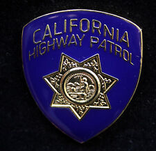 MINI CHP CALIFORNIA HIGHWAY PATROL HAT BADGE PIN POLICE STAR RADAR TICKET GIFT