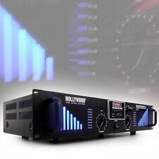 2400 Watt Design DJ Verstärker Bluetooth USB SD AUX PA-Endstufe Bluestream 2.0