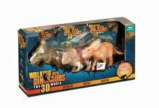 BBC EARTH WALKING WITH DINOSAURS 3D MOVIE 3 PACK FIGURES SCOWLER PATCHI JUNIPER