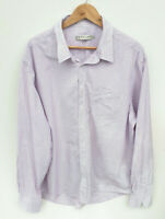 RM WIlliams Mens Size 4XL Long Sleeve Button Front Collar T Shirt