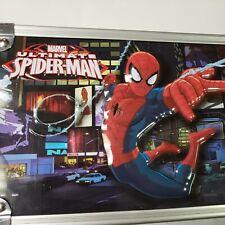 New - 2015 Vaultz Locking Pen Pencil Supply Box Embossed 3D Spiderman Dc Comics