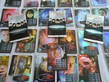 LOT D  TORCHWOOD  RARE FULL SET 25 CARDS DR WHO BUNDLE