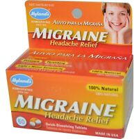 Migraine Pills Bad Severe Headache Chronic Relief Cluster Tension Stress Remedy