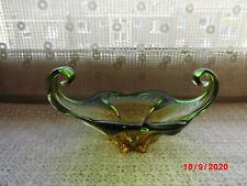 Murano? Glas-Schale grün-gelb ..... nur 3 Tage!!!