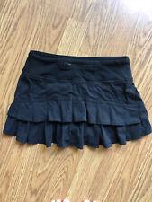 Ivivva Girls Skort Built In Shorts Active Stretch Black Lululemon Girls 10