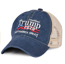 Donald Trump Hat Trucker Cap Keep America Great 2020 Presidential Embroidered