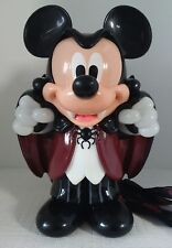 *RARE* DISNEY PARKS HALLOWEEN Vampire Mickey Mouse Popcorn Candy Bucket 2016