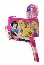 Disney Princess Lanyard Fastpass ID Ticket Holders with Detachable Coin Purse