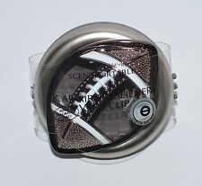 NEW BATH & BODY WORKS FOOTBALL SCENTPORTABLE HOLDER VENT CLIP CAR AIR FRESHENER