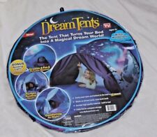 DREAM TENTS WINTER WONDERLAND TWIN SIZE KIDS POP UP BED TENT As Seen on TV GIRL