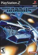 Gradius V 5 Complete PS2 (Sony PlayStation 2) Black Label Free Shipping