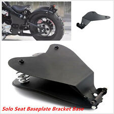 NEW Motorcycle Seat Base Bracket Spring Mount Kit For Chopper Bobber Custom