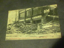 Totman Carriage Works destroyed in flood of Aug. 3rd 1915 Erie, Pa ed 14