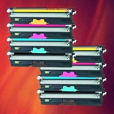 8 Color Toner Type D1 Set for Okidata OKI C110 C130
