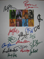 Rent Signed Script X16 Lohr Diggs Idina Menzel Rapp Dawson Silverman reprint
