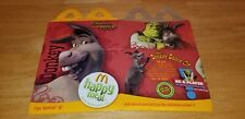 Vintage McDonald's Shrek The Third Donkey Happy Meal Box 2007