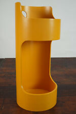 70er Vintage Umbrella Stand Yellow Umbrella Opal Cane Stand Space Age