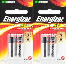 ENERGIZER 23A A23BPZ MN21 V23GA VR22 12 V Alkaline Batteries (4 PCS)