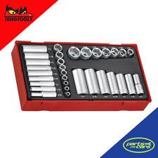 TTAF32 - Teng Tools - 1/4 Inch & 3/8 Inch Drive Impact Socket Set