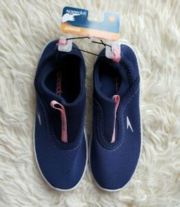 SPEEDO Water Shoes  BLUE & PINK STRETCHY BRAND NEW GIRLS SIZE 3