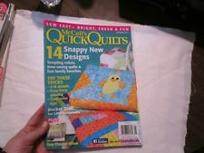 McCall's Quick Quilts April May 2013