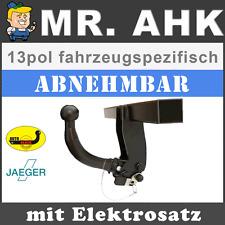AUTO-HAK VW Golf Plus 5 & 6 ab 05 AHK Anhängerkupplung abnehmbar 13pol spe ESatz