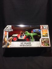Jurassic World Fallen Kingdom Jeep Wrangler Raptor Attack RC With Owen FNH12 NEW