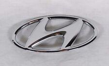 HYUNDAI ELANTRA TRUNK EMBLEM 11-16 BACK OEM CHROME H BADGE sign symbol logo
