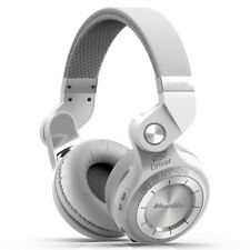 BLUEDIO T2S Turbine Bluetooth 4.1 Wireless Stereo Mic Headphones Headsets White