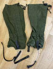 British Military Olive Green GS Gaiters