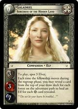 LoTR TCG Bloodlines Galadriel Sorceress of the Hidden Land Masterworks FOIL 13O2