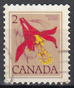 Kanada gestempelt Blume Pflanze Flora Natur Pflanzenwelt / 62