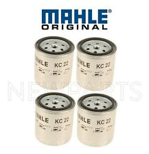 Set of 4 Fuel Filters Mahle Spin-on Type For Mercedes W123 W126 240D 300CD 300SD