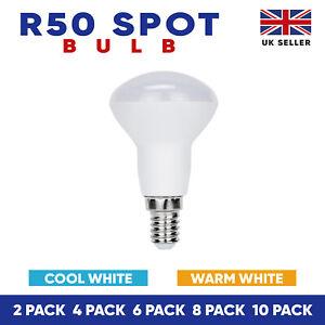 R50 LED Reflector Reflecter Light Bulbs Warm White/Cool Light SES, Reflector