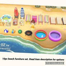 Animal Crossing New Horizons Beach Furniture Set 10pc