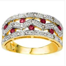 Women's Ruby and diamond ring