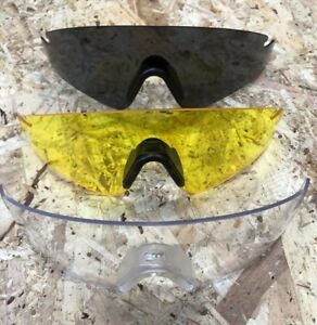 REVISION HSS SAWFLY REPLACEMENT LENSES - Safety lens ,Clear , Solar , Yellow NEW