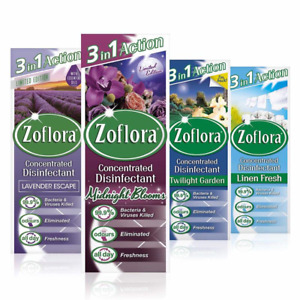 Zoflora CONCENTRATED ANTIBACTERIAL Disinfectant 120ml Kills 99.9% Viruses & Bect
