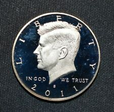 2008 S Proof John Kennedy Half Dollar With 2x2 Case DCam Clad Combined Shipping